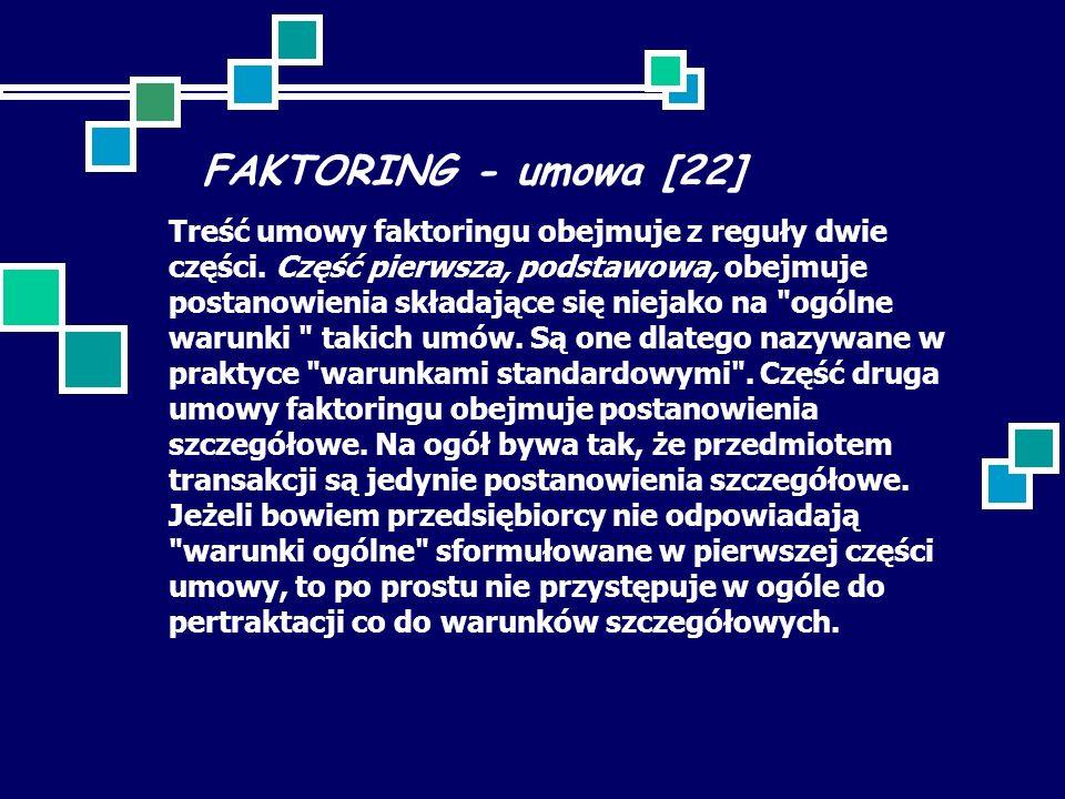 FAKTORING - umowa [22]
